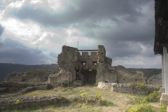 Ruinen der mittelalterlichen Stadt Cherven